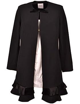 Cappotto Gabriela Noir nero Weill rifiniture in velluto 1740145164C
