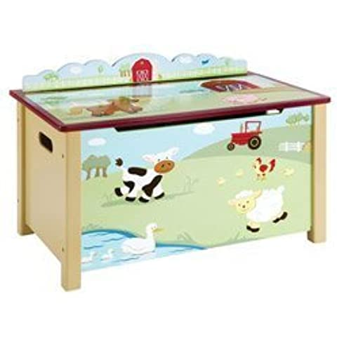 Farm Friends Toy Box by Guidecraft