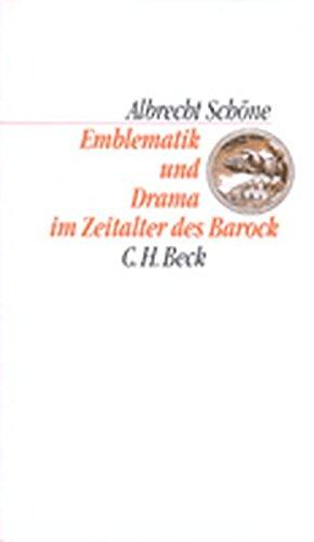 Emblematik und Drama im Zeitalter des Barock