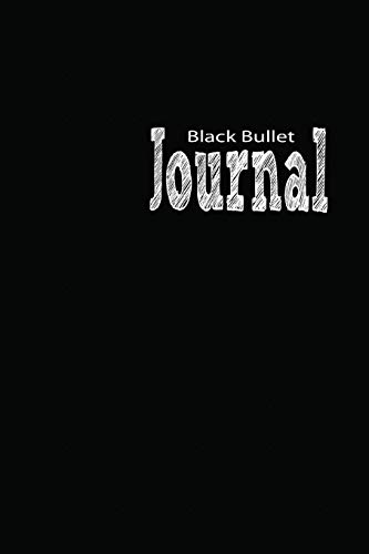 Black Bullet Journal: Black Paper Notebook with 10 mm Isometric White Dots | Black Grid Notebook Journal (Black Pad, Band 1)
