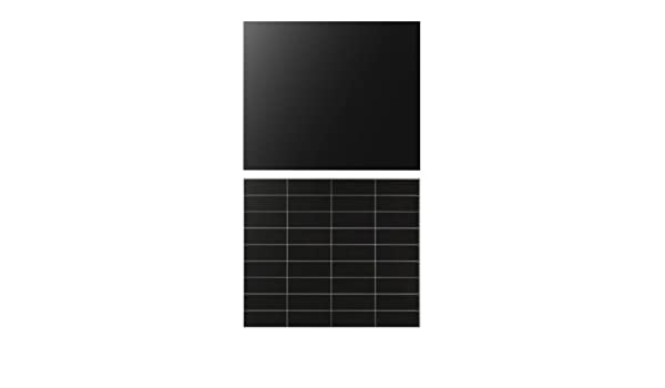 Ikea Fastbo Wall Panel Double Sided Black Tile Pattern Black 60x50 Cm Amazon Co Uk Kitchen Home