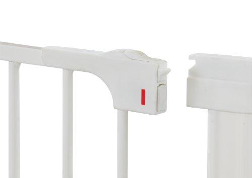 Baby Dan selbstschließendes Schutzgitter Two-Way Auto Close – hergestellt in Dänemark + TÜV/GS geprüft, 73.5-79.6, Farbe: Weiß - 5