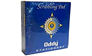 Oddy Scribbling Pad, 95mm x 95 mm, 240 Pages - Pack of 10