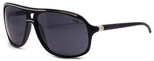 Black Flys - Hangover Fly Schwarz getönte Gläser - Sonnenbrille - Schwarz matt