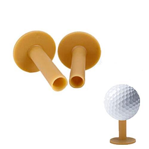 Kimballkq 2 Stücke Gummi Driving Range Golf Tees Halter T Training Übungsmatte 70mm - Fly Away Halter