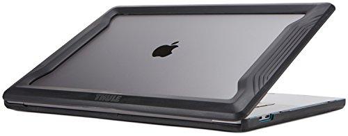 Thule 153528 Vectros Bumper MacBook Pro Hülle (Stoßabsorbierende Kanten, Gummifüße, optionaler Kratzschutz) Schwarz, 38,1 cm (15 Zoll)
