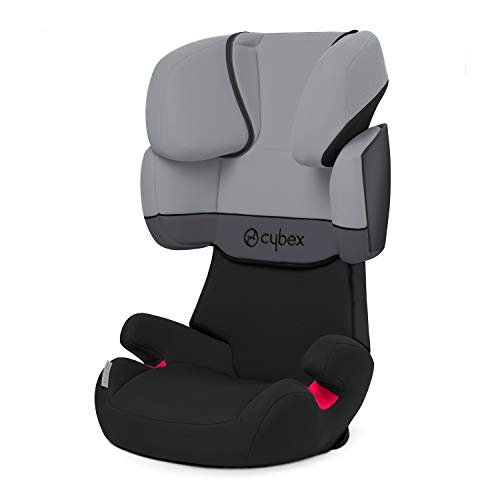 Cybex 512114007 silver solution x, seggiolino per auto per bambini, gruppo 2/3, grigio (cobblestone/light grey)