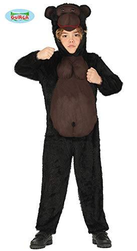 Fiesta Guirca Gorilla-Kinderkostüm tierische-Verkleidung braun 110/116 (5-6 Jahre)