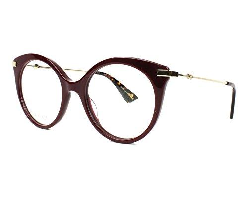 Gucci - GG0109O, Rund Acetat Damenbrillen
