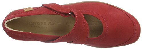 Hartjes Xs Casual, Ballerines femme Rouge - Rot (chili/whisky 55,51)