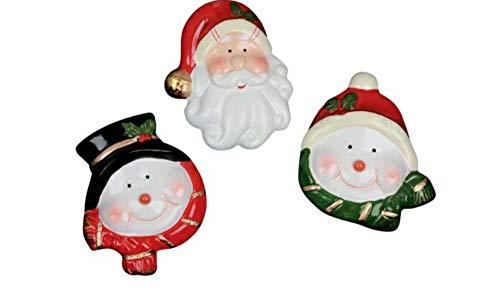 Weihnachten Magnete 3er Set 3 Motive Weihnachtsmann Schneemann von Trends für Nikolaus Adventskalender (3er Set)