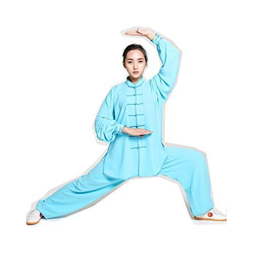 JTIH® Tai Chi??? Kleidung Tang-Anzug Kung Fu-Shirt Chinesische traditionelle Kampfkunst Wing Chun Anstrengung Trainingsanzug Elastische Baumwolle Weiches (einschließlich Hemd + Hose)