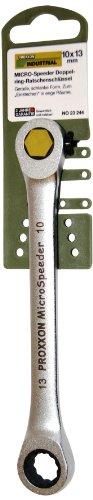 PROXXON 23244 MICROSpeeder 10 x 13mm Doppelring Ratschenschlüssel