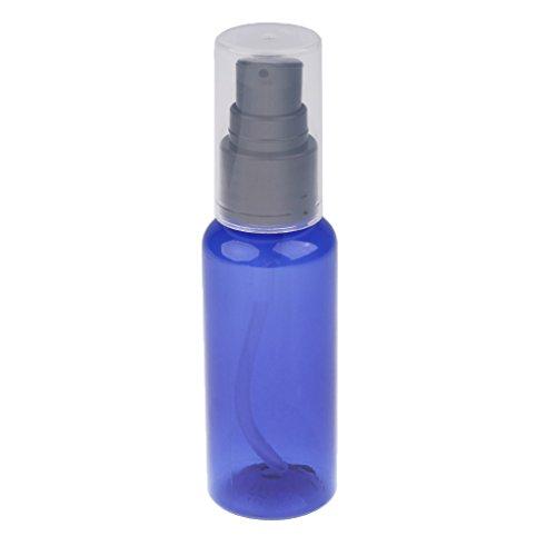 50ml Zerstäuber Sprühflasche Lotion Creme Parfüm Pump Flasche mit Kappe-Blau (Pump Serum)