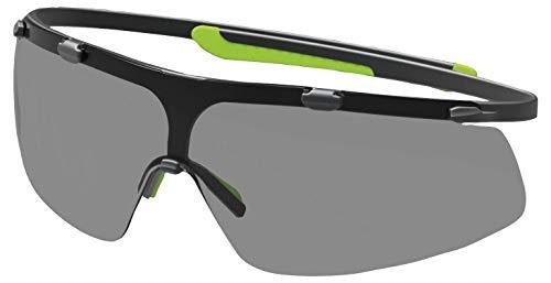 Uvex Super G Schutzbrille - Supravision Excellence - Getönt/Schwarz-Grün
