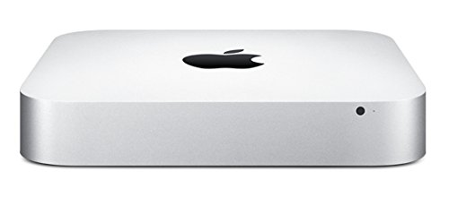 Apple Mac mini PC, Dual-Core i5 1.4 GHz, 4 GB RAM, 500 GB HDD, Intel HD Graphics 5000, silber