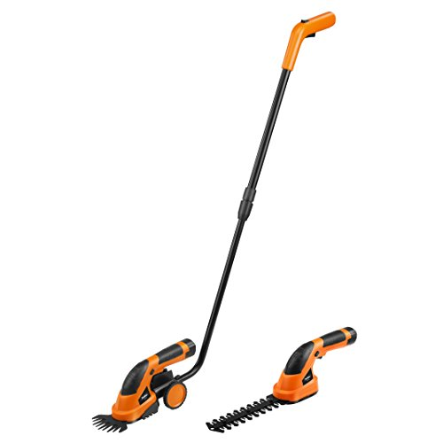 VonHaus 7.2V Lithium-Ion Cordless 2 in 1 Grass and Hedge Trimmer with bar and wheel plus charger Test