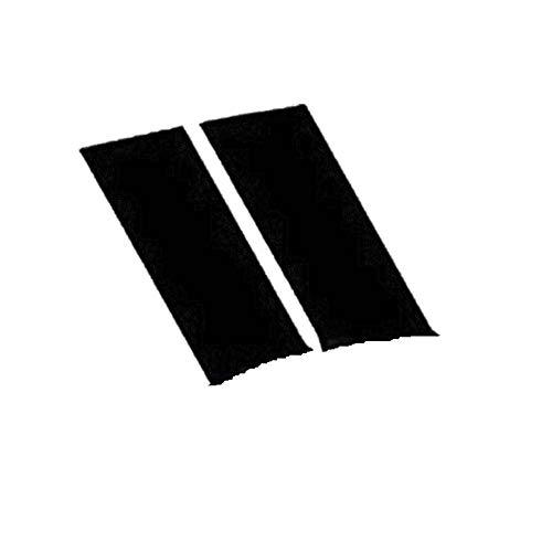 JZTRADING Kotflügelaufkleber Kreative Mode Drucken Selbstklebender Autofensteraufkleber Auto Dekoration Aufkleber Black