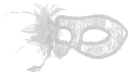 Smartfox Fasching Karneval Venezianische Maske mit Blume in ()