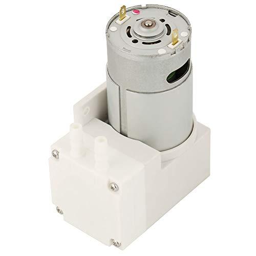 Vakuumpumpe,50W Mini Vakuumpumpe DC12V Luft Mini Vakuumpumpe Unterdruck Saugpumpe 70L / min für Lebensmittelverpackungsmaschine, Maximaler Druck: -50 kPa