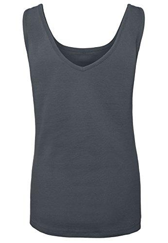Rock Angel Damen Beach Top MIA | Elegantes Shirt mit Piqué Muster und vertieftem Rückenausschnitt Dark-Blue
