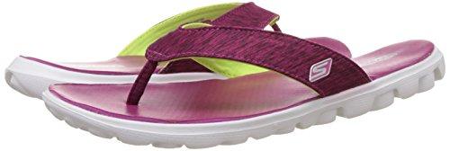 Skechers  On The Go Flow,  Damen Sandalen , Pink - Pink (Pnk) - Größe: 38 EU -