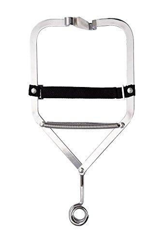 AMAZONAS Türklammer für Baby Federwiegen Babyhängematten Babyschaukeln Door Clamp Stahl verzinkt bis 15 kg (Stubenwagen Schaukeln)
