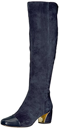Nine West Damen Jatoba Stiefel, Blau (French Navy), 40 EU