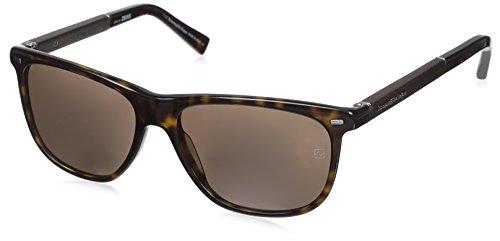 Occhiali da sole ermenegildo zegna ez0009 c56 52j (dark havana / roviex)