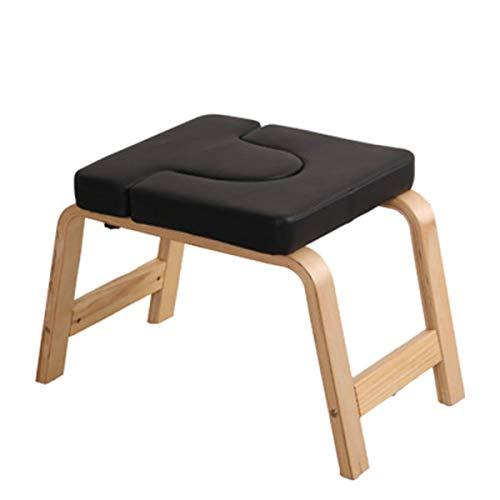 DLLYJDLY Yoga Hocker, Kopfstandhocker Kopfstand-Yoga Stuhl Yoga Kopfstandbank Yoga Inversion Stuhl Hocker Handstand Für Family Gym Entlasten Sie Müdigkeit