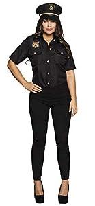 Boland 83870 Police Lady M - Disfraz para Adulto, Color Negro