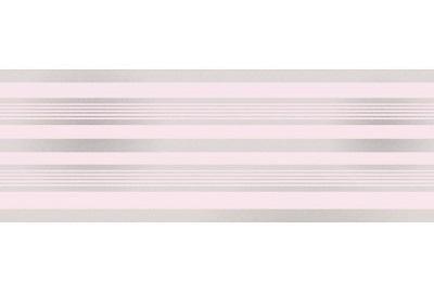 Fine Decor–Glitzer Ohrnetz–dlb50141–Bordüre Pink/Silver