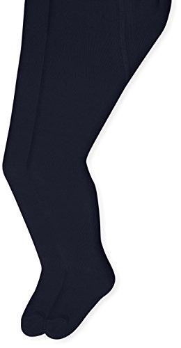 Sterntaler Doppelpack Strumpfhose für Kleinkinder, Alter: 2-3 Jahre, Größe: 92, Marineblau