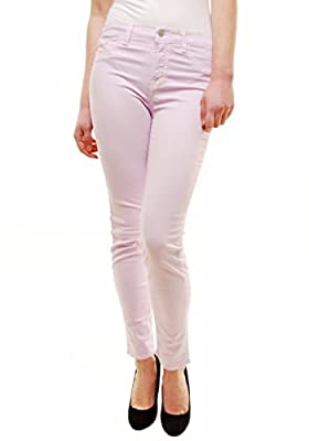 J BRAND Women's Lilac Mid Rise Skinny Jeans