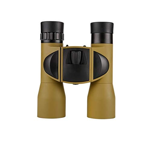 IN THE DISTANCE Nuevo 8X32 Binoculars Night Vision Telescope HD Mini Pocket Mountaineering Telescopio Táctico para Exteriores Binoculares (Color : Sand)