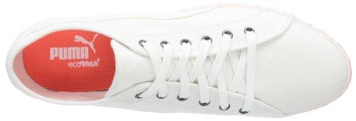 Puma Kamila Espadrillas 354797, Sneaker Donna Bianco (Weiß (white-fluo peach 02))