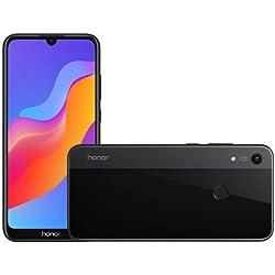 HONOR 8A, Smartphone, LTE, Système d'exploitation: Android 9 (Pie), Capacité: 512 GB, écran HD+ 6.088 Pouces, Camera 13 MP, f1.8, Brand Tim, Black [Italia]