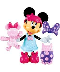 Mickey Mouse Clubhouse Minnie's Sleepover Bowtique Doll (IJ837EJ)