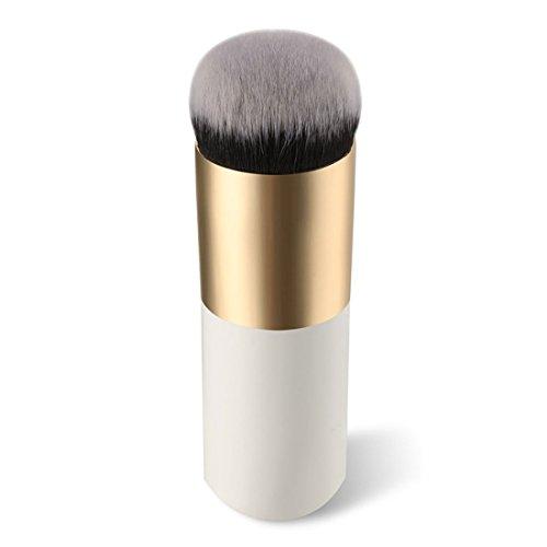 YYF 1 STÜCKE Fett Griff Make Up Pinsel Foundation Blush Puffer Pulver Bronzer BB Creme Pinsel Große Runde Kopf Kosmetik Pinsel -