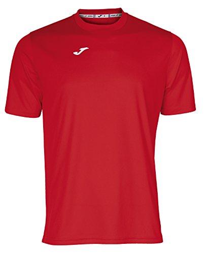 Joma Combi Camiseta, Hombre, Rojo, L