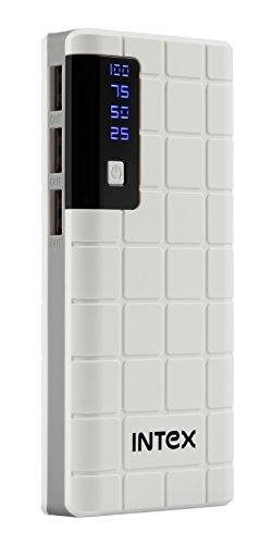 Intex IT-PB 10K 10000mAH lithium ion Power Bank (White)