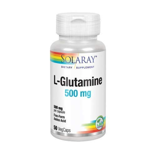 L Glutamina 500 mg 50 capsule di verdure