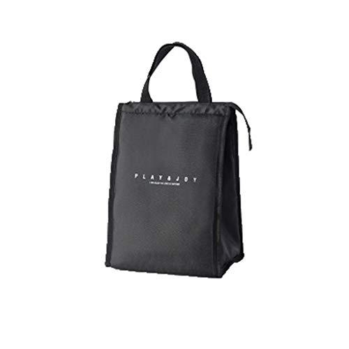 t Arbeit Tote Lunch-Taschen Tasche FüR Lunch KüHltasche Mittagessen Picknicktasche Isolierte Kalte Picknick Tragetasche Thermische Tragbare Lunchtasche(A) ()