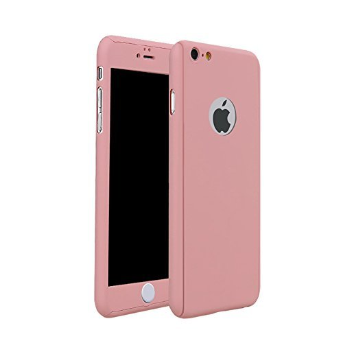 Carcasa para iPhone 6 Plus / iPhone 6s Plus, iMusi Funda Ultra-fina de Protección para el Cuerpo Completo, iPhone 6 Plus Case Delgado con un Protector de Pantalla de Vidrio Templado para Apple iPhone 6 Plus (5.5
