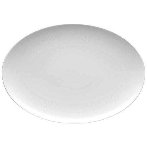 Thomas Loft Platte Oval, 40 cm, Weiß Ovale Platte