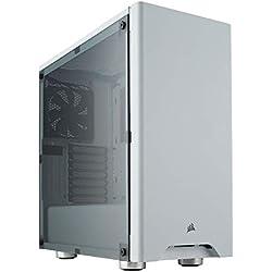 Corsair Carbide 275R Boîtier PC Gaming (Fenêtré Moyenne Tour ATX) - Blanc