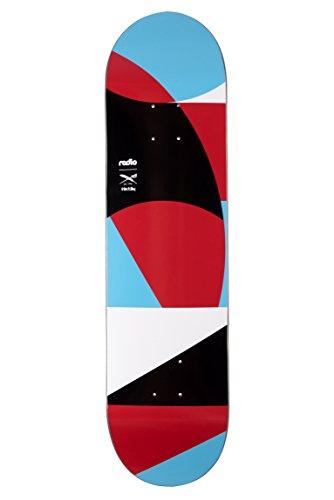 "Radio x Iriedaily Skateboard Deck rXi Multi 8.0\"""
