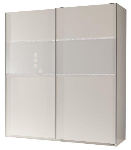 Wimex Kleiderschrank/ Schwebetürenschrank Blitz, 2 Türen, (B/H/T) 135 x 198 x 64 cm, Mehrfarbig
