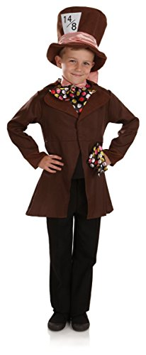 Poco Mad Hatter / Alice in Wonderland - Bambini Costume - Small - 112 centimetri - Age 4-6
