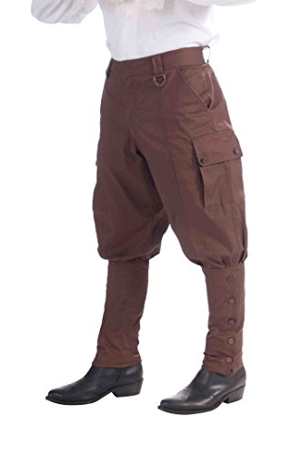 9 Steampunk Hosen-, 86,4 cm (Halloween-kostüm-ideen Für Work-party)